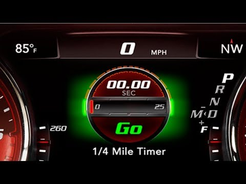 Dodge Charger SRT Performance Pages Unlock With Uconnect System