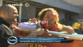 TV Perú Deportes | La antesala Brasil - Croacia 12/06/2014