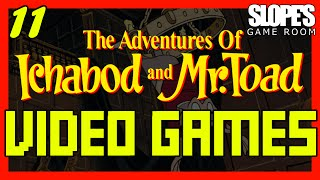 11, The Adventures of Ichabod & Mr Toad movie & video game review - SGR