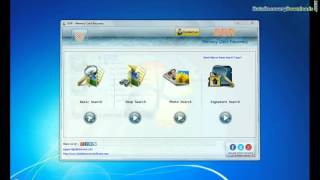 Recover lost data from memory card using DDR Memory Card Recovery Software