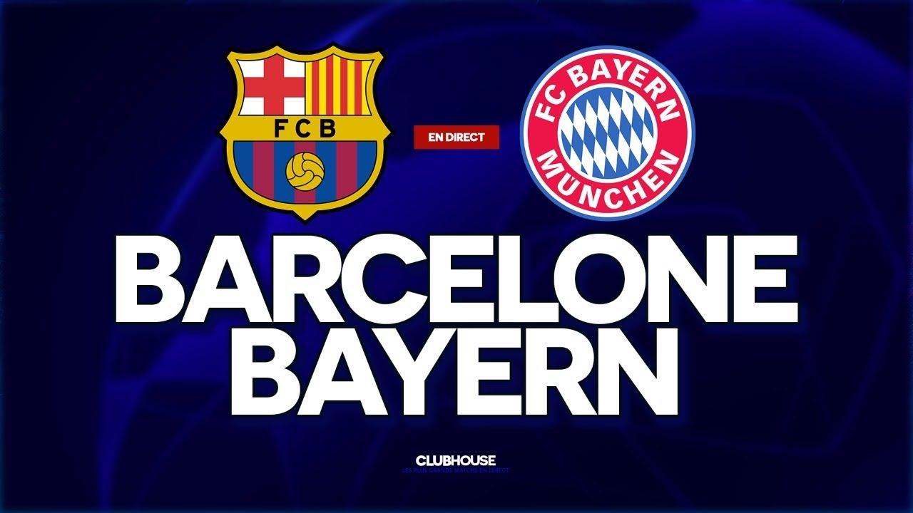 Barcelone - Bayern Munich en direct - Ligue des champions - Saison / - Football
