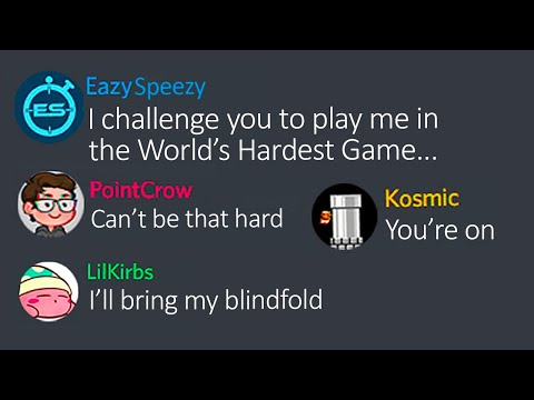Can EazySpeezy beat 30 levels of The World's Hardest Game before speedrunners beat 10? |