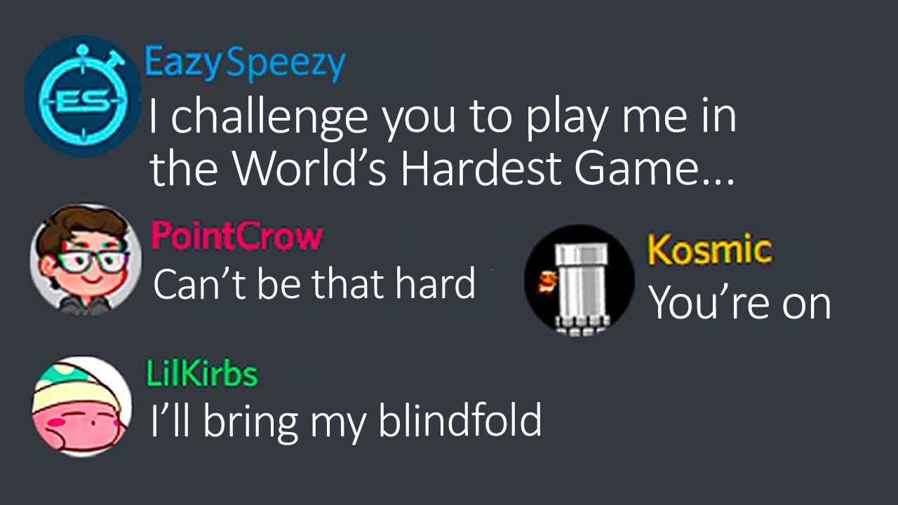 Can EazySpeezy beat 30 levels of The World's Hardest Game before speedrunners beat 10?
