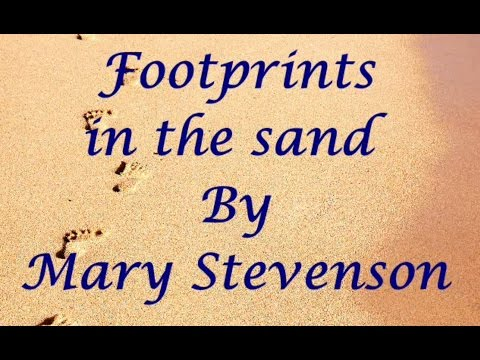 Footprints in the Sand Video Poem