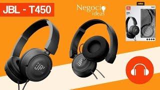 Audífonos JBL T450 Revisión y Desempaquetando (Unboxing)