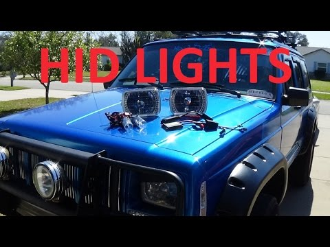 hqdefault 1996 jeep cherokee xj hid headlight kit \