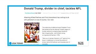 Donald Trump Vs NFL: America's divider in chief or America's saviour?