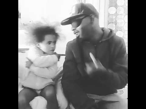 Dad and daughter singing cover of Bobby Van Jaarsveld - Lovesong letter