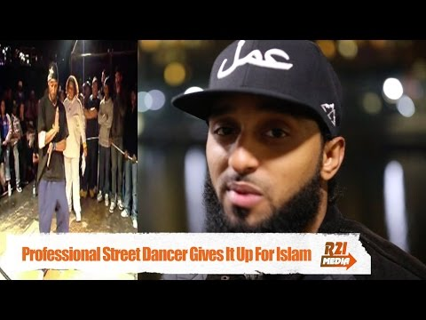 Professional Street Dancer Gives It Up For Islam