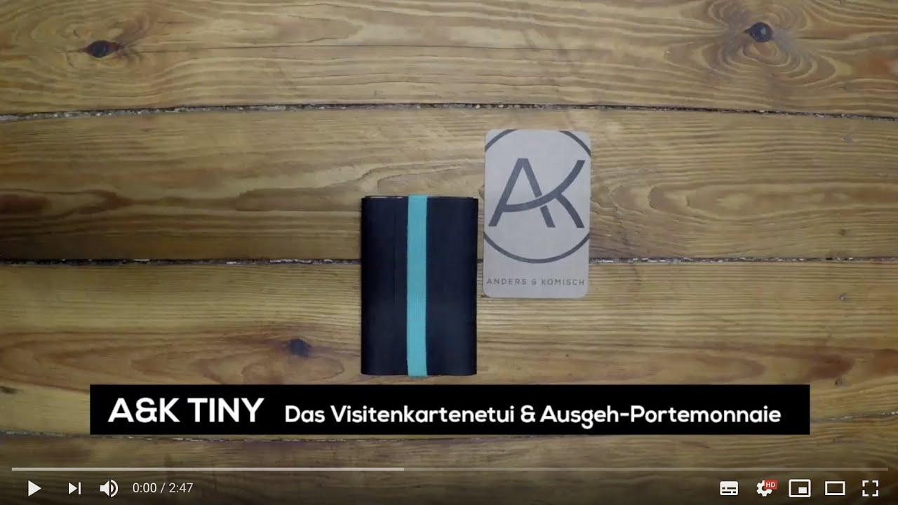 A K Tiny Das Visitenkartenetui Ausgeh Portemonnaie