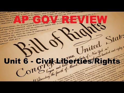 AP Gov Review: 1st Amendment Cases - Unit 6 - Civil Liberties Part 2