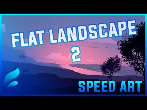 Speed Art | Landscape Illustration 2
