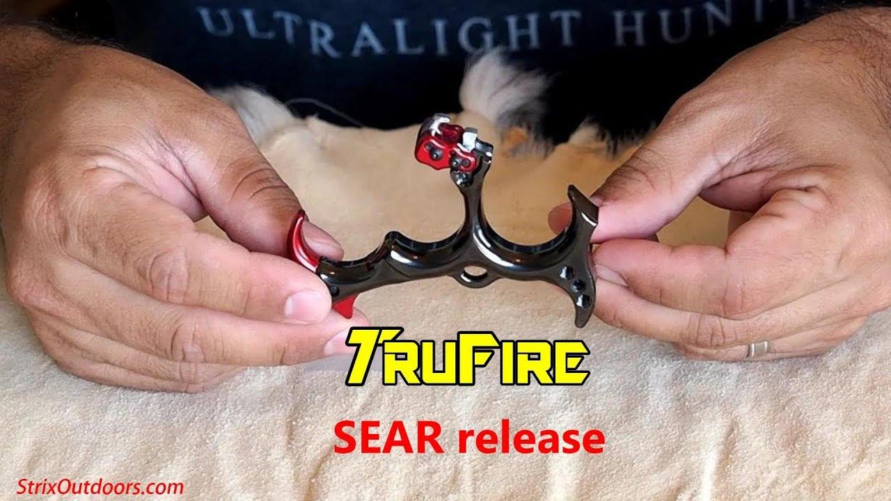 TruFire Sear Back Tension Archery Release Orange #BTO
