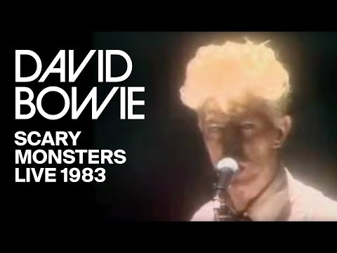 David Bowie - Scary Monsters (Live, 1983)
