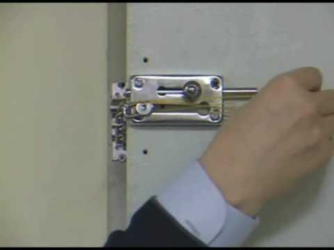 how to unlatch a door chain from outside - YouTube