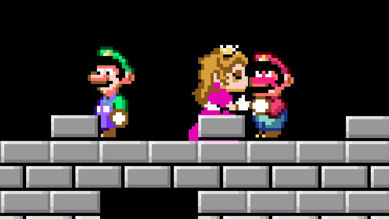 Super Mario World but it's a Co-op