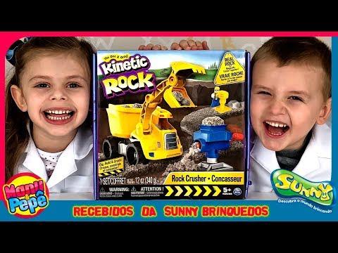 Massa Pedra   Massa Areia   Sunny Brinquedos [Manu e Pepe]