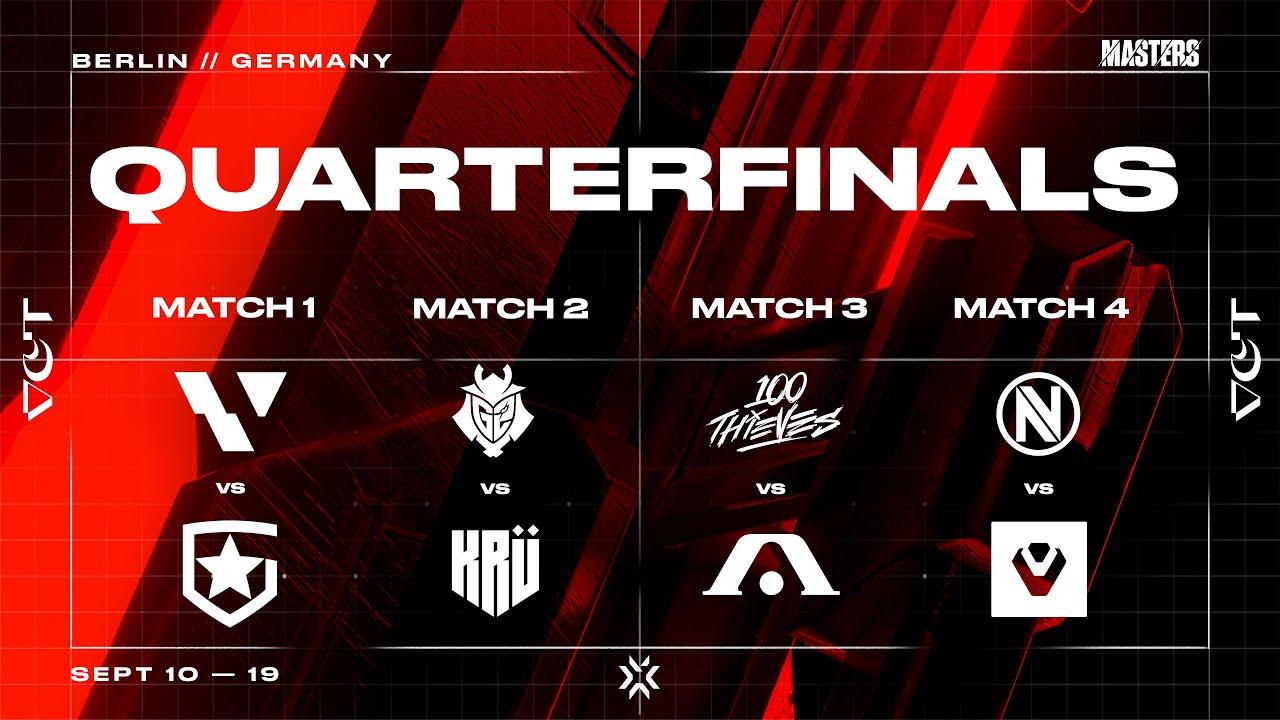 Download 🔴 G2 ESPORTS vs KRU ESPORTS   VCT Stage 3 - Masters: Berlin - Quarterfinals