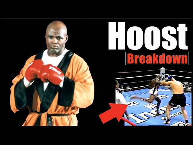 GOAT?! Hoost's Legendary Leg Kick KO's Explained - Technique Breakdown