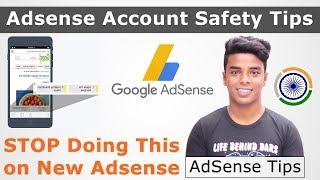Adsense Account Safety Tips