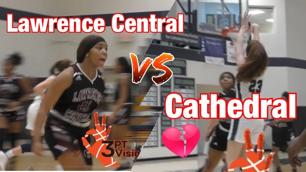 Lawrence Central Upsets Cathedral on Senior Night!