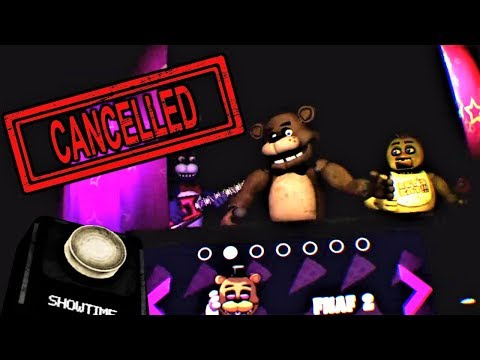 Why SHOWTIME Is CANCELLED... | FNaF VR: Help Wanted SCOTT UPDATE