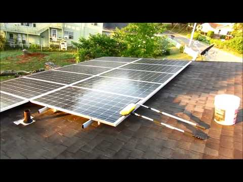 Ken The Solar Guy - Solar Panel Cleaning