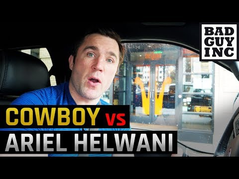 Does Cowboy Cerrone want to fight Conor McGregor or Ariel Helwani?