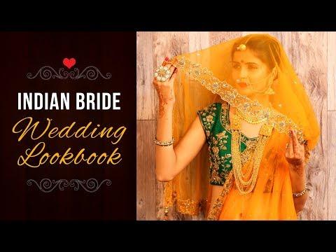 Indian Bride Wedding Lookbook 2018 - Indian Ethnic Wear Lookbook
