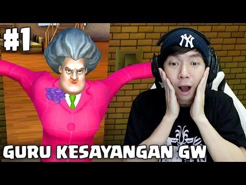 Bertemu Guru Kesayangan - Scary Teacher 3D Indonesia - Part 1