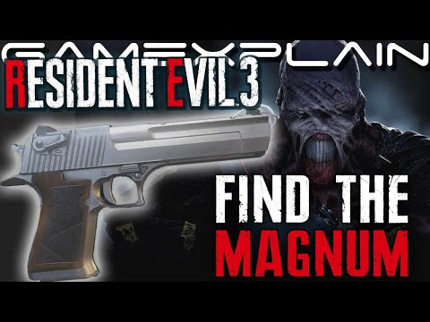 Resident Evil 3 Remake - How To Find The Magnum - GUIDE