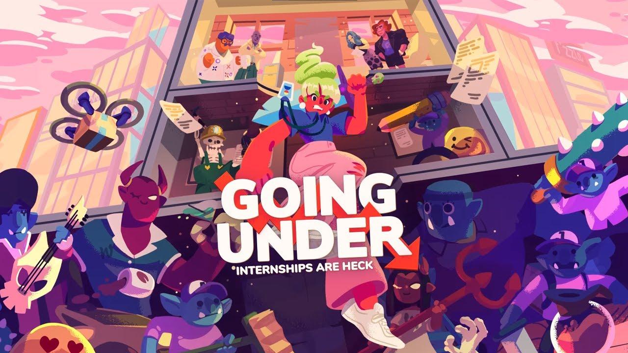 【Going Under】ブラックジョーク満載の近未来シレン風ゲーム【#ライブハック】