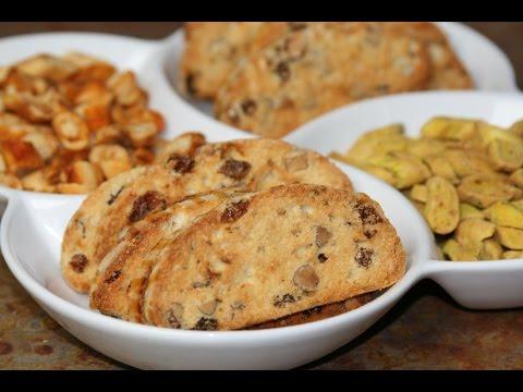 fekkas-amandes-&-raisins-secs-(recette-marocaine)---moroccan-almond-&-raisin-cookie---الفقاص-باللوز