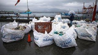 60 bags of ocean garbage brought to docks in Vancouver
