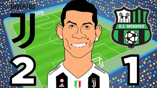 Download Video Juventus Vs Sassuolo (2-1) Ronaldo scores first two goals for Juventus Highlights Serie A 16/09/2018 MP3 3GP MP4