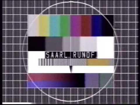 ARD 12.06.1982 ARD Sport extra + Testbild Saarländischer Rundfunk mit Nachrichten