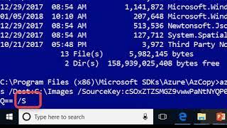 Azure Training (70-533, AZ-100)  - Azure AZ Copy Demo