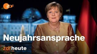 Neujahrsansprache 2021 von Bundeskanzlerin Angela Merkel