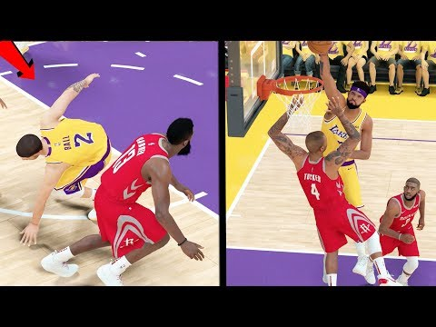 JAMES HARDEN SNAPS LONZO BALL ANKLES! McGee Catching Bodies! NBA 2k19 My CAREER Ep. 57