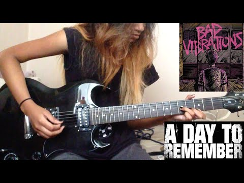 A Day To Remember - Negative Space - (Guitar Cover) @WhereisADTR