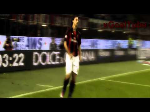 Zlatan Ibrahimovic all goals for AC Milan (2010-2012)
