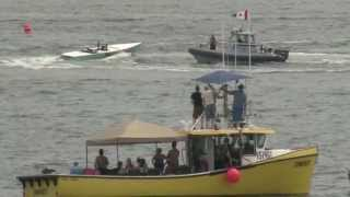 """Strait Ahead"" Crash at the Buoy - Pictou July 6th 2013"