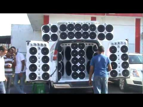 LA JR DE REPUBLICA DOMINICANA EN EXHIBICION - CAR AUDIO INTERNACIONAL