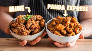 Making Panda Express Orange Chicken At Home | But Better