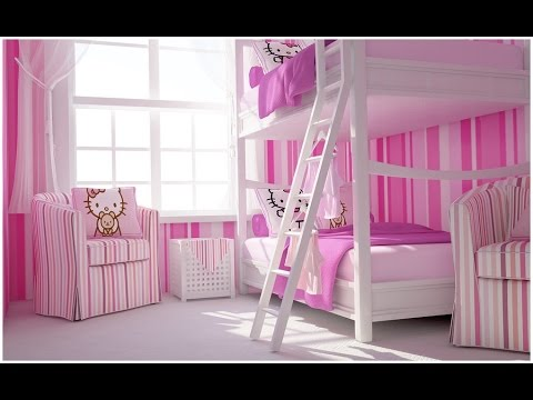 Hello Kitty Bedroom Set | Hello Kitty Complete Bedroom Set