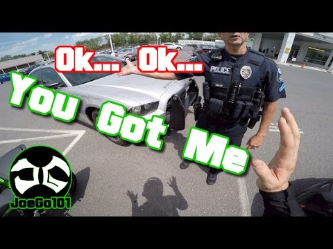 Pulled Over By Douche Bag Cop Bmw I8 Nice Motorcycle Zx6r Youtube