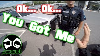 Pulled over by Douche Bag Cop / BMW i8 / Nice Motorcycle ZX6R