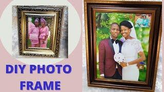 #photoframediy  HOW TO MAKE PHOTO FRAME DIY. PHOTO FRAME screenshot 4