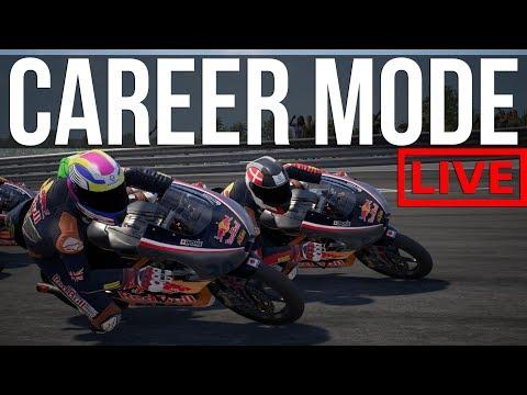 MotoGP 2018 - Trying Not To Crash In Career Mode