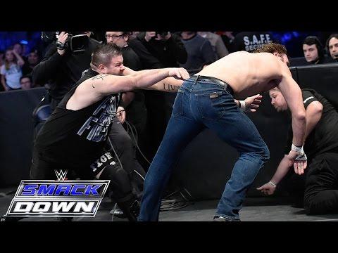 Vertragsunterzeichnung Für Das Intercontinental Championtitel Match: SmackDown – 10. Dezember 2015